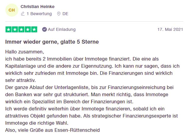 Immotege Erfahrung Bewertung Philipp Scharpf Erfahrung